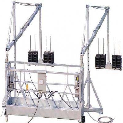 吊篮安全锁的工作情况