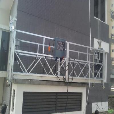 江门吊篮出租是如何搭建吊篮的?