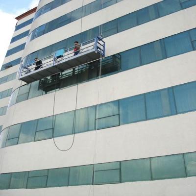 使用吊篮进行外墙清洁时遇上大风怎么办?